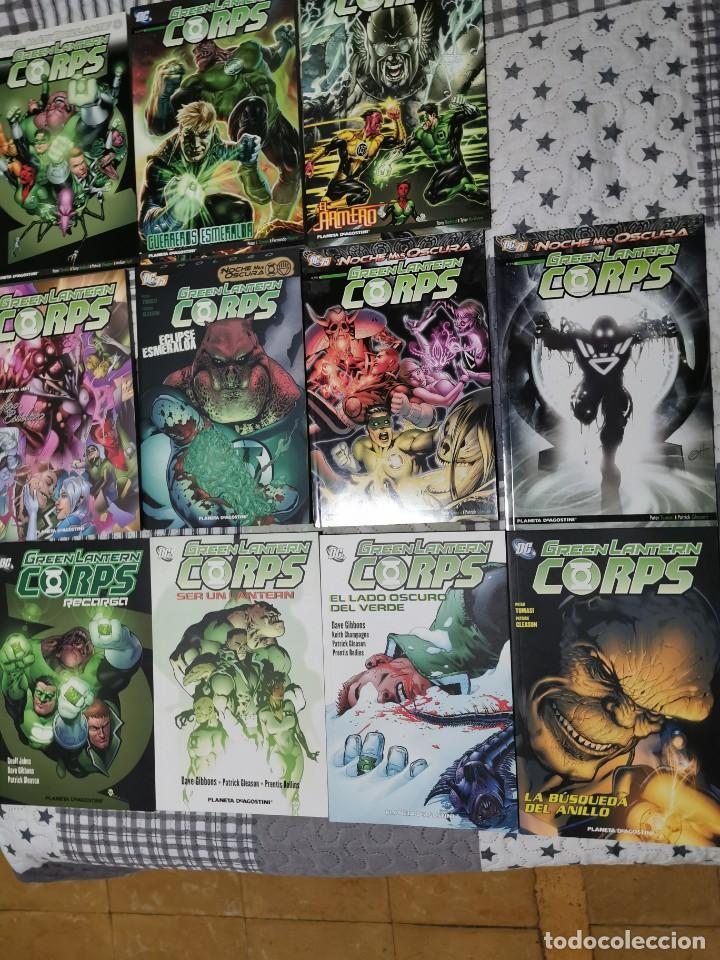 SAGA GREEN LANTERN CORPS, RECARGA, LA NOCHE MÁS OSCURA, GUERREROS ESMERALDA, PLANETA (Tebeos y Comics - Planeta)