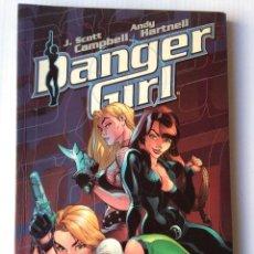 Cómics: DANGER GIRL - EL LIBRO DEFINITIVO. Lote 221581818