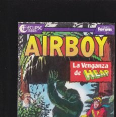 Cómics: AIRBOY - Nº 15 DE 21 - ECLIPSE - 1990 - PLANETA DEAGOSTINI -. Lote 221624800