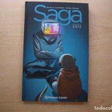 Fumetti: SAGA - CAPITULO SIETE - TAPA DURA - PLANETA COMIC - NUEVO - VER FOTOS. Lote 221768675