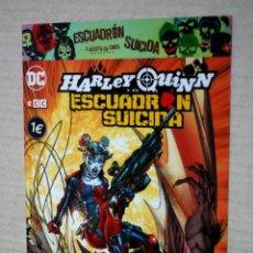 Cómics: HARLEY QUINN Y EL ESCUADRÓN SUICIDA. Lote 221954537
