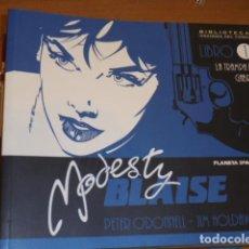 Cómics: MODESTY BLAISE LOTE Nº 1-2-3-4-5-6-7 PLANETA OFERTA. Lote 222061810