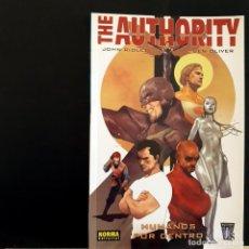 Cómics: THE AUTORITHY HUMANOS POR DENTRO NORMA EDITORIAL TOMO ESPECIAL - EXCELENTE. Lote 222641946