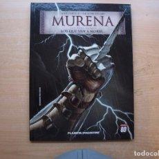 Cómics: MURENA - CAPITULO CUARTO - LOS QUE VAN A MORIR - TAPA DURA - PLANETA DEAGOSTINI - NUEVO. Lote 222696347