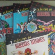 Cómics: CLASICOS DC - NUEVOS TITANES 1 AL 4. Lote 222705428