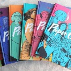 Cómics: PAPER GIRLS - COLECCIÓN COMPLETA 6 TOMOS. Lote 222732618