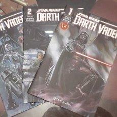 Cómics: 21-000031-32-33 STAR WARS -DARK VADER 1-2-3 GRAPAS. Lote 222948037