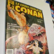 Cómics: LA ESPADA SALVAJE DE CONAN SERIE ORO Nº 40 EL RUBÍ SANGRIENTO DE LA MUERTE 1982 (BUEN ESTADO). Lote 222978278