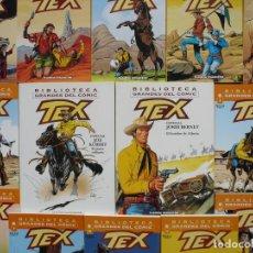 Fumetti: LOTE TEX. PLANETA DEAGOSTINI, COMPLETA, 12 NÚMEROS Y 2 ESPECIALES.. Lote 221892792