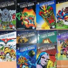 Cómics: EL CUARTO MUNDO DE JACK KIRBY. CLASICOS DC. 10 TOMOS. COMPLETA. PLANETA DEAGOSTINI. Lote 224508711