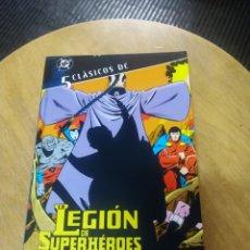 Cómics: CLÁSICOS DC N° 5 : LA LEGIÓN DE SUPERHEROES (PLANETA DE AGOSTINI). Lote 235793295