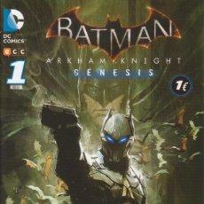 Cómics: CÓMIC DC BATMAN ARKHAM KNIGHT Nº 1 ED, PLANETA / ECC 32 PGS.. Lote 225400620