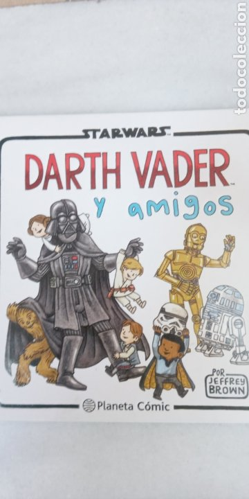 Cómics: DARTH VADER Y SUS AMIGOS - STAR WARS - PLANETA COMIC- POR JEFFRY BROWN - SIMPATICO - Foto 2 - 225987215