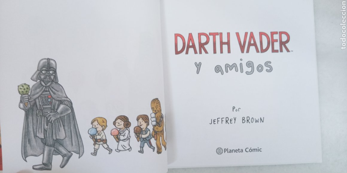 Cómics: DARTH VADER Y SUS AMIGOS - STAR WARS - PLANETA COMIC- POR JEFFRY BROWN - SIMPATICO - Foto 4 - 225987215