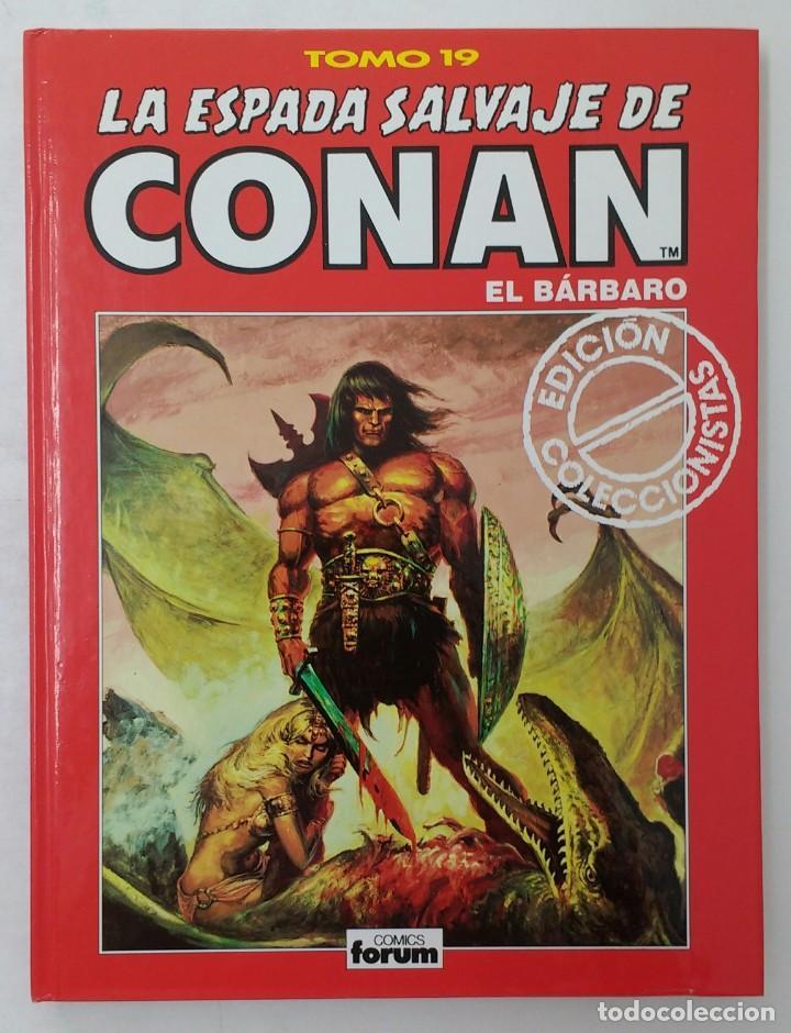 LA ESPADA SALVAJE DE CONAN. EDICIÓN COLECCIONISTAS. TOMO ROJO 19. PLANETA-LIBRO CARTONE (Tebeos y Comics - Planeta)