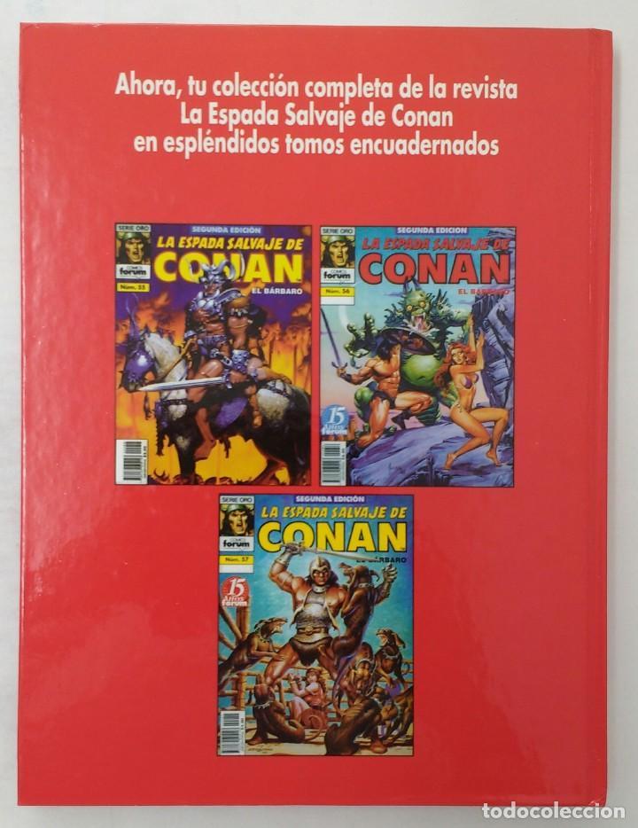 Cómics: LA ESPADA SALVAJE DE CONAN. Edición coleccionistas. Tomo Rojo 19. Planeta-Libro Cartone - Foto 2 - 226130237