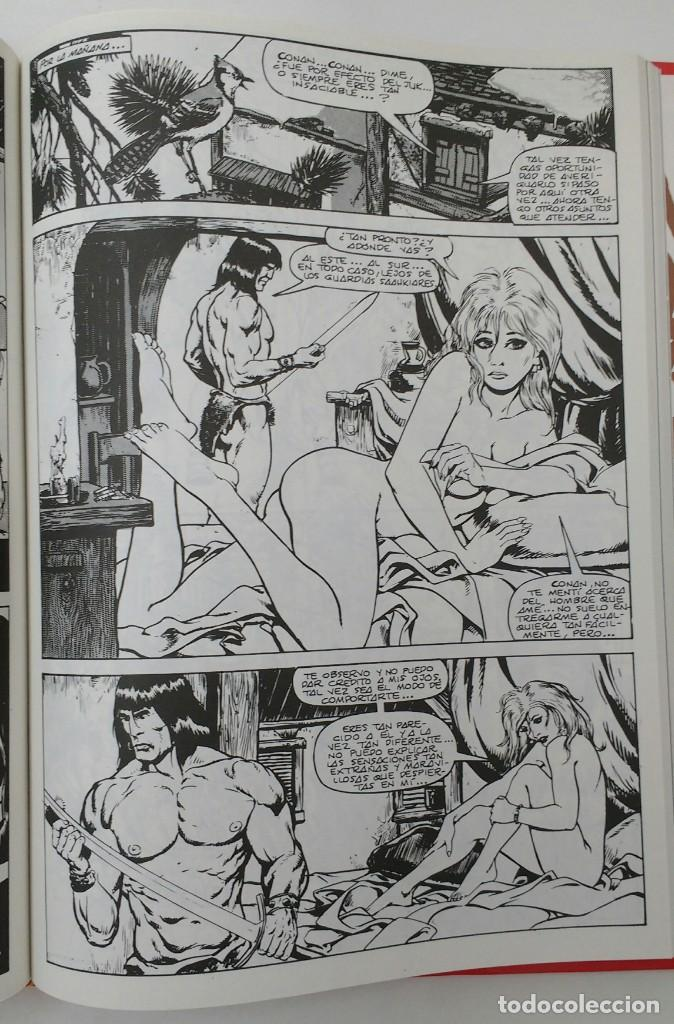 Cómics: LA ESPADA SALVAJE DE CONAN. Edición coleccionistas. Tomo Rojo 19. Planeta-Libro Cartone - Foto 4 - 226130237