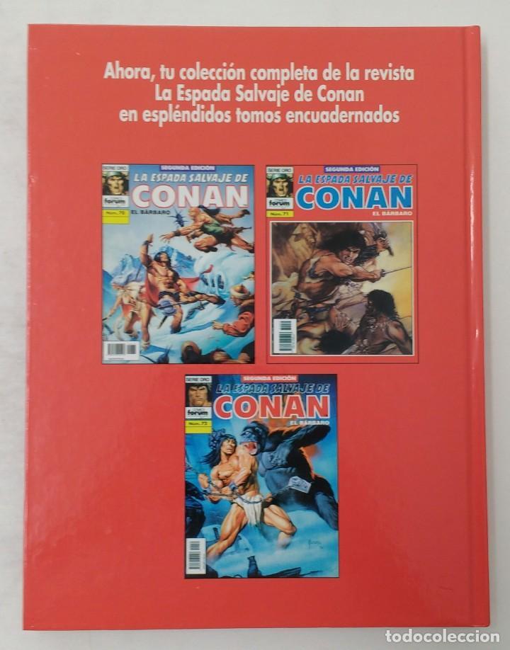 Cómics: LA ESPADA SALVAJE DE CONAN. Edición coleccionistas. Tomo Rojo 24. Planeta-Libro Cartone - Foto 2 - 226135518