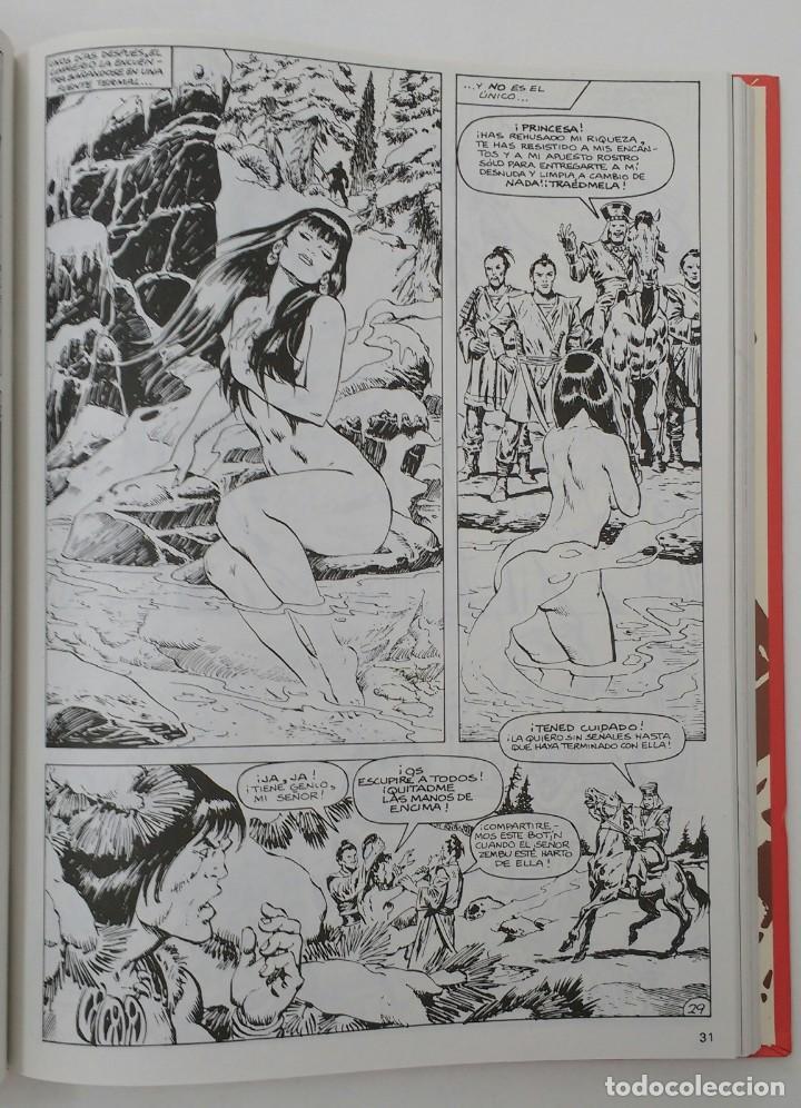 Cómics: LA ESPADA SALVAJE DE CONAN. Edición coleccionistas. Tomo Rojo 24. Planeta-Libro Cartone - Foto 3 - 226135518