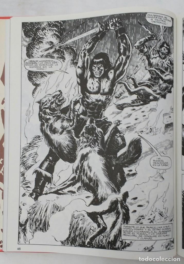 Cómics: LA ESPADA SALVAJE DE CONAN. Edición coleccionistas. Tomo Rojo 24. Planeta-Libro Cartone - Foto 5 - 226135518