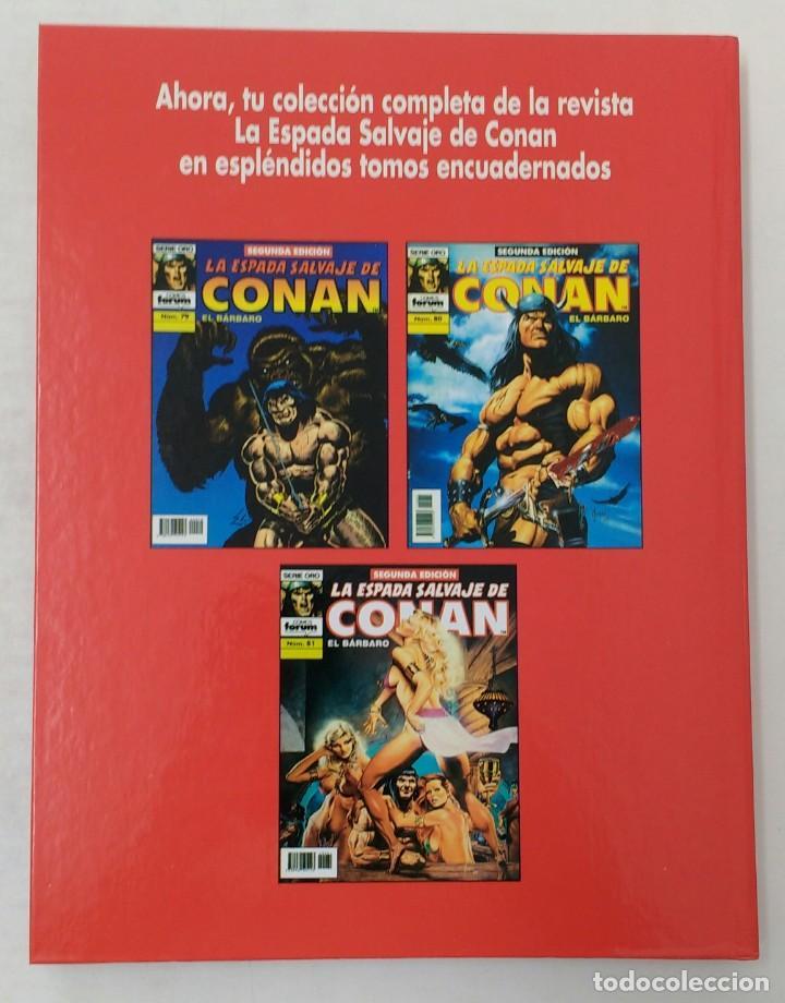 Cómics: LA ESPADA SALVAJE DE CONAN. Edición coleccionistas. Tomo Rojo 27. Planeta-Libro Cartone - Foto 2 - 226136885