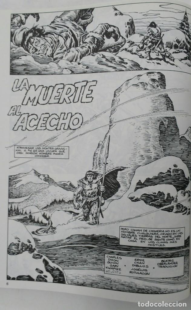 Cómics: LA ESPADA SALVAJE DE CONAN. Edición coleccionistas. Tomo Rojo 27. Planeta-Libro Cartone - Foto 3 - 226136885