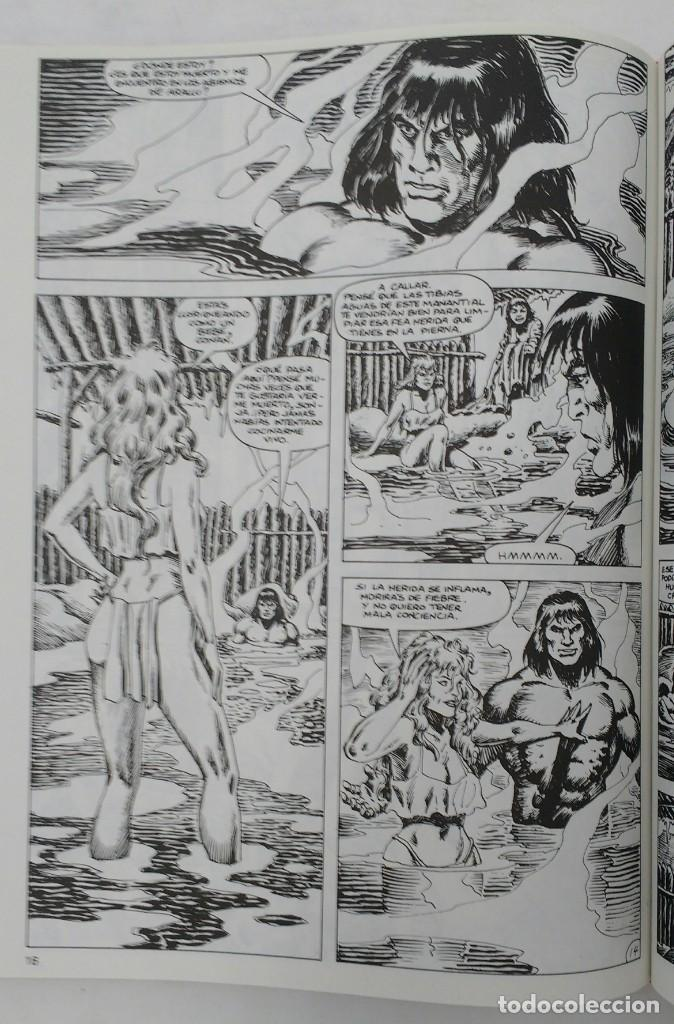 Cómics: LA ESPADA SALVAJE DE CONAN. Edición coleccionistas. Tomo Rojo 27. Planeta-Libro Cartone - Foto 4 - 226136885