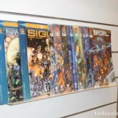 Fumetti: SIGIL COMPLETA 12 NUMEROS MAS 2 TOMOS CROSSGEN - PLANETA OFERTA. Lote 226449400