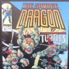 Cómics: COMIC THE SAVAGE DRAGON,PLANETA,1994,Nº 5,IMAGE,WORLD COMICS. Lote 227093970