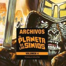 Cómics: EL PLANETA DE LOS SIMIOS. ARCHIVOS Nº 4 PESADILLA EVOLUTIVA - PANINI - CARTONE - IMPECABLE - OFI15F. Lote 227239215