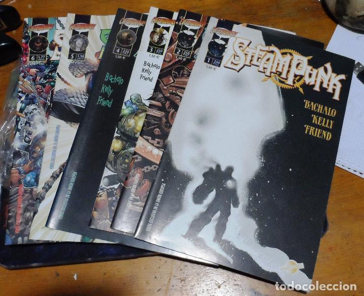 BACHALO, KELLY Y TRIEND. STEAMPUNK. COMPLETA. NÚMEROS 1, 2, 3, 4, 5 Y 6. CLIFFHANGER. PLANETA (Tebeos y Comics - Planeta)