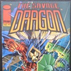 Cómics: COMIC THE SAVAGE DRAGON,Nº 10,IMAGE,WORLD COMICS,PLANETA,1995. Lote 227773095