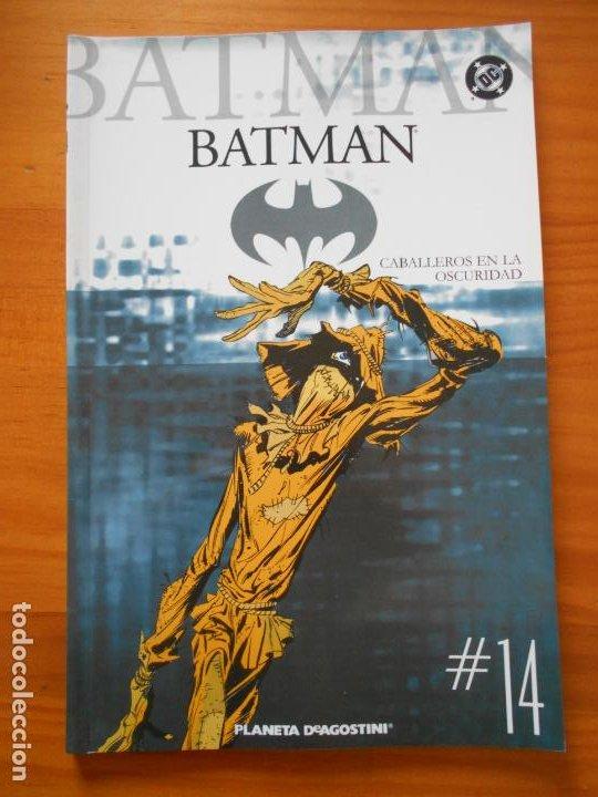 BATMAN COLECCIONABLE Nº 14 - CABALLEROS EN LA OSCURIDAD - DC - PLANETA (V2) (Tebeos y Comics - Planeta)