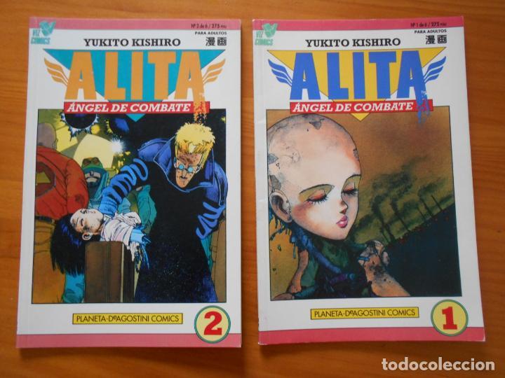 ALITA ANGEL DE COMBATE Nº 1 Y 2 DE 6 - YUKITO KISHIRO - VIZ COMICS - PLANETA (7E) (Tebeos y Comics - Planeta)
