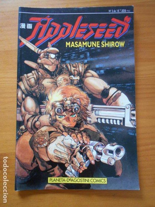 APPLESEED Nº 3 DE 18 - MASAMUNE SHIROW - PLANETA (7E) (Tebeos y Comics - Planeta)
