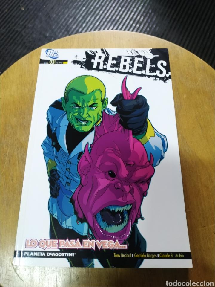 REBELS, LO QUE PASA EN VEGA..N° 3 (PLANETA DE AGOSTINI) (Tebeos y Comics - Planeta)