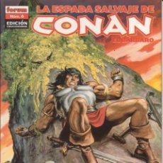 Cómics: COMIC TOMO (LOMO) LA ESPADA SALVAJE DE CONAN EL BÁRBARO Nº 6 ED. COLECCCIONISTAS - PLANETA 64 PGS.. Lote 228663533