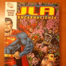 Cómics: JLA ENCARNACIONES OSTRANDER SEMEIKS ROLLINS. Lote 232796380
