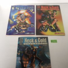 Cómics: COMIC NECK & COLD, COMPLETA ,UNZUETA,PLANETA,1996. Lote 233750695