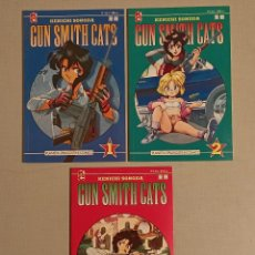 Cómics: GUN SMITH CATS 3 EJEMPLARES COMPLETA. Lote 234998365