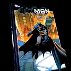 Cómics: EXCELENTE ESTADO BATMAN CRIMEN Y CASTIGO 16 COMICS PLANETA DC. Lote 235061855