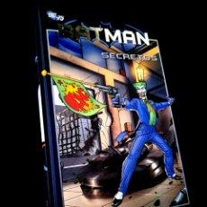 Cómics: EXCELENTE ESTADO BATMAN SECRETOS 21 COMICS PLANETA DC. Lote 235064890