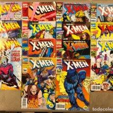 Cómics: LAS NUEVAS AVENTURAS DE LOS X-MEN. LOTE DE 14 TEBEOS MARVEL CÓMICS - COMICS FORUM. Lote 235556365