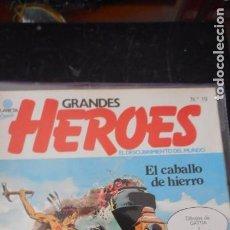 Cómics: GRANDES HÉROES Nº19. Lote 235699550