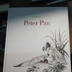 Cómics: PETER PAN - LOISEL - EDICION DE LUJO BN - PLANETA COMIC. Lote 235704430