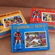 Cómics: EL GUERRERO DEL ANTIFAZ - 1 A 16 - FALTAN 9 Y 10 - PLANETA - TAPA DURA - COLECCIONABLE. Lote 235716205