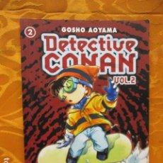Cómics: DETECTIVE CONAN 2, VOL.2 - GÔSHÔ AOYAMA - PLANETA. Lote 235729810