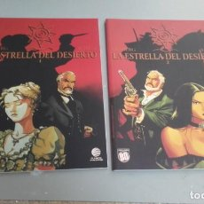 Cómics: X LA ESTRELLA DEL DESIERTO 1 Y 2 (COMPLETA), DE DESBERG Y MARINI (PLANETA). Lote 235909700