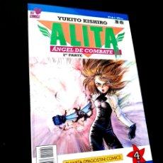 Cómics: EXCELENTE ESTADO ALITA 4 ANGEL DE COMBATE 2° PARTE SERIE AZUL COMICS PLANETA VIZ COMICS. Lote 235925885