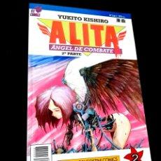 Cómics: EXCELENTE ESTADO ALITA 2 ANGEL DE COMBATE 2° PARTE SERIE AZUL COMICS PLANETA VIZ COMICS. Lote 235926310